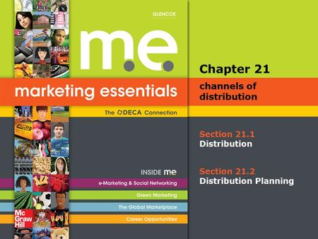 Section 21.1 Distribution Chapter 21 channels of distribution Section 21.2 Distribution Planning.