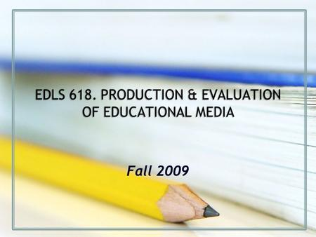 Fall 2009. Unit 2. Development Module 8: Typography & Design.