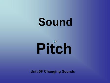 sound blaster how to change pitch