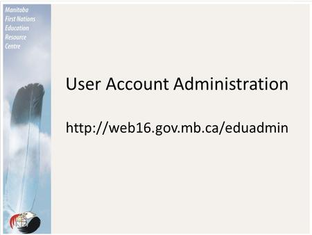 User Account Administration