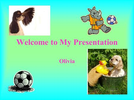 Welcome to My Presentation Olivia. My School Timeline.
