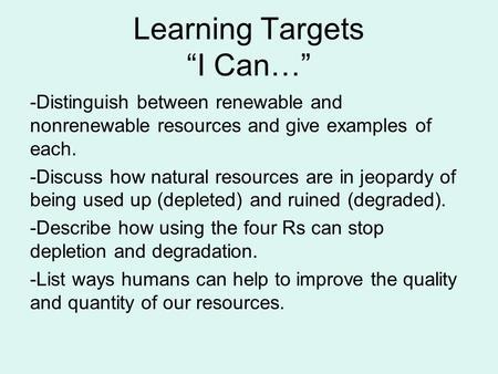 non renewable resources examples list