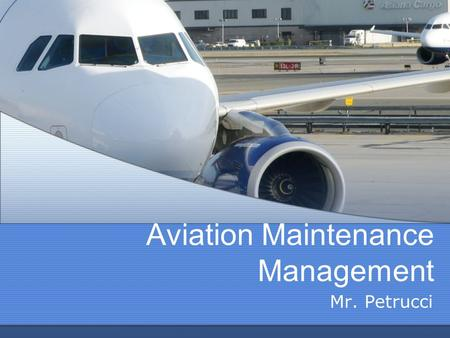 Intro to Aviation Mr. Petrucci. Introduction Introduction ...
