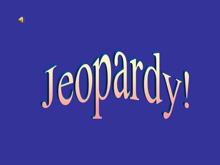 Jeopardy Spanish Exploration Portuguese Exploration British Exploration French Exploration Dutch and random facts Slavery 100 200 300 400 500 Click here.