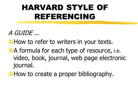 harvard referencing student style guide pdf