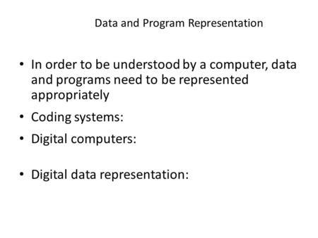 data representation in computer pdf