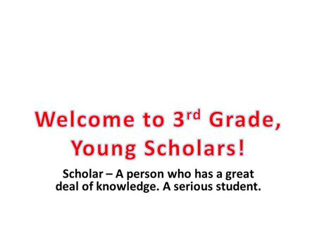 Scholar – A person who has a great deal of knowledge. A serious student.