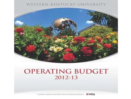 FY2012-13 Budget Documents Executive Summary Approval of Tuition & Fees Schedule Recurring Reduction Implementation Plan Narratives Revenue Summary Expenditure.