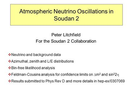 Atmospheric Neutrino Oscillations in Soudan 2