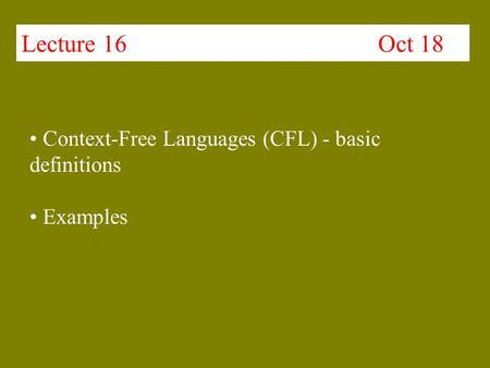 Regular Grammars Formal Definition Of A Regular Expression