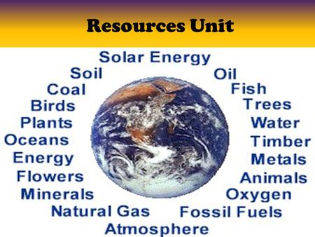 Resources Unit. Day 1 Objective: Objective: – I can explain the pros and cons of different types of nonrenewable energy sources.