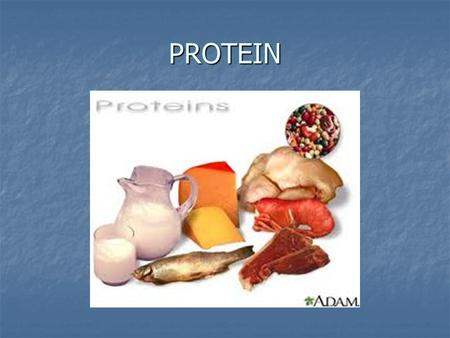 PROTEIN. What is protein??? Proteins are essential for nearly all body cells. Proteins are essential for nearly all body cells. It is necessary for the.