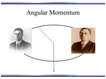 Angular Momentum. What was Angular Momentum Again? If a particle is confined to going around a sphere: At any instant the particle is on a particular.