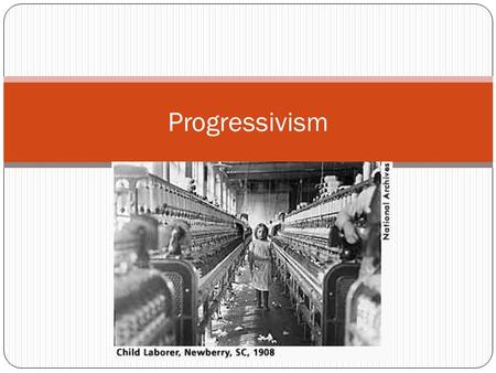 Progressivism. In the late 1800's a reform movement arose to address many of the social problems that industrialism created. This movement was known as.