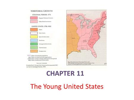 CHAPTER 11 The Young United States. Political Parties Emerge Major decisions faced the new government, but key officials had different ___________on how.
