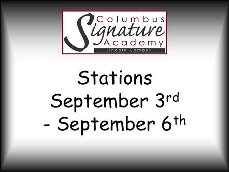 Stations September 3 rd - September 6 th. Project Overview Students will design, create, and price a product to be sold at the Farmer's Market on September.
