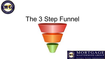 The 3 Step Funnel. It's All About the Cheese Give something of value in exchange for their email address Make it clear what the value is QUICKLY Make.