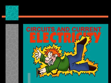 CIRCUITS AND CURRENT The build up of stationary electric charges (positive and negative) on two different surfaces. Caused by the TRANSFER of electrons.