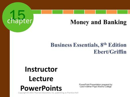 Instructor Lecture PowerPoints