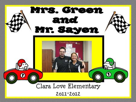 Clara Love Elementary 2011-2012. This is my 11th year teaching at the elementary school level. This is my 3 rd year in the district. Throughout my career,