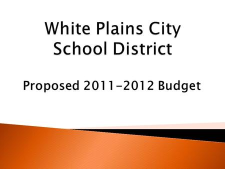 Proposed 2011-2012 Budget.  Teaching – Regular School  Special Education  Pupil Personnel Services  Revenue  Budget Summary.