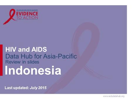 Indonesia Last updated: July 2015.