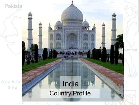 "India Country Profile. BBC News: IndiaIndia ""The world's largest democracy and second most populous country has emerged as a major power after a period."