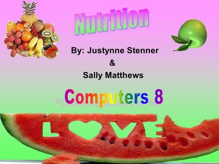 By: Justynne Stenner & Sally Matthews Carbohydrates body breaks it down into simple sugars major source of energy for the body two major types: –simple.