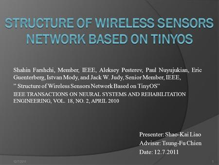 ieee papers on wireless sensor networks free download