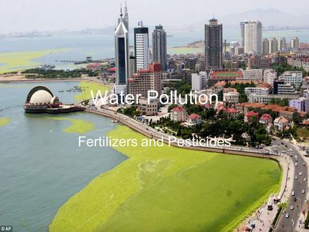 Water Pollution Fertilizers and Pesticides. Fertilizers materials used to provide plant nutrients which are deficient in soils. contain essential ingridients.