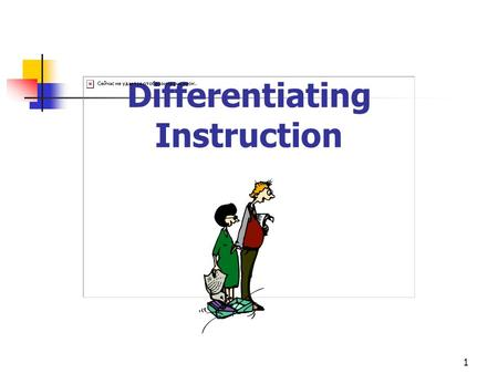 1 Differentiating Instruction. 2 K-W-L This is what I know about Differentiating Instruction (DI) This is what I want to know about DI This is what I.