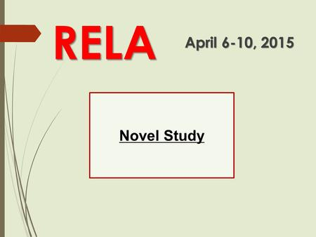 Novel Study RELA April 6-10, 2015. Grades to Record  TKAM Projects #1  TKAM Projects #2  TKAM Test using Plickers  KNOWSYS #19  Hollis Woods Character.