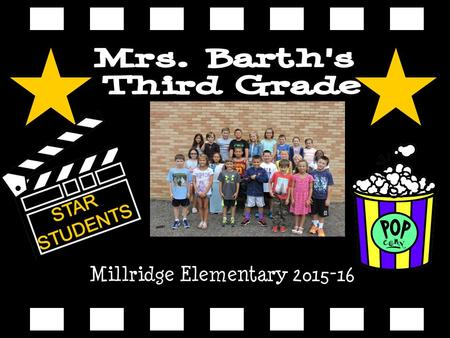 Millridge Elementary 2015-16. Kristin Barth Visit me on the Mayfield Web Page My voic is 440-995- 7269.