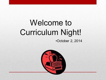 Welcome to Curriculum Night! October 2, 2014. 5 th Grade Teachers: Ms. Bama (Co-teach) Mr. Chatagnier (EIP) Ms. Franzen (Talented and Gifted) Dr. King-Jackson.