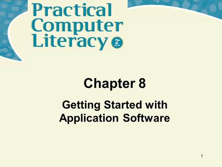 Getting Started with Application Software