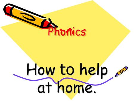 PhonicsPhonics How to help at home. Phonics is ……. Identifying sounds in spoken words Blending sounds into words for reading Segmenting words into phonemes.
