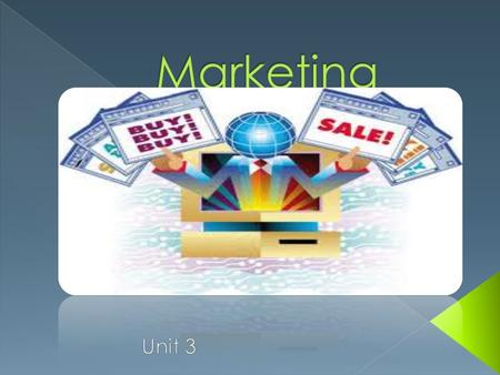 Marketing Market Planning Product/Service Development PricingPromotion Distribution Selling Information Management Finance Risk Management.