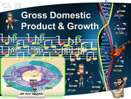 Gross Domestic Product & Growth Ch 12 National Income Accounting Because of the Great Depression, economists felt they needed to monitor our economy,