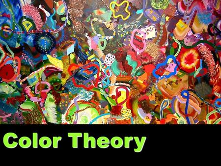 Color Theory.