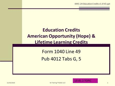 Non Refundable Credits Child And Dependent Care Credit Form 1040