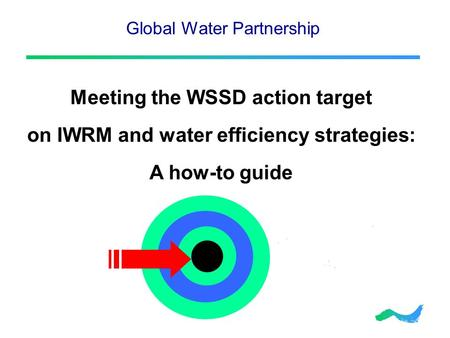 Global Water Partnership Meeting the WSSD action target on IWRM and water efficiency strategies: A how-to guide.