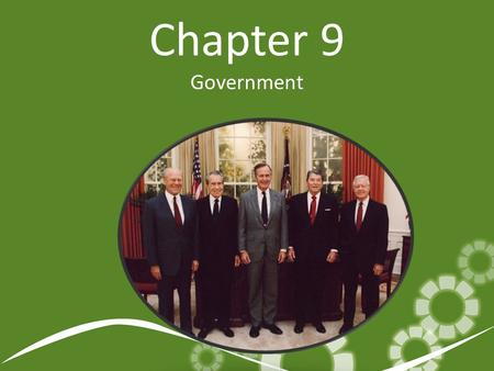 Chapter 9 Government.