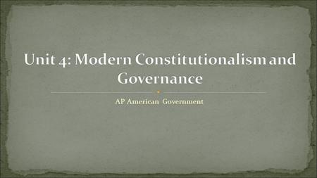 AP American Government. Preamble to the Constitution (1787) We the People of the United States, in Order to form a more perfect Union, establish Justice,