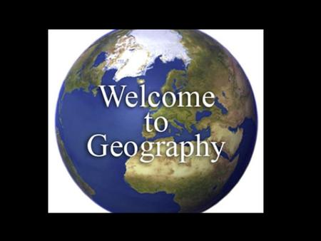 Part 1: Introduction and The Five Themes of Geography.