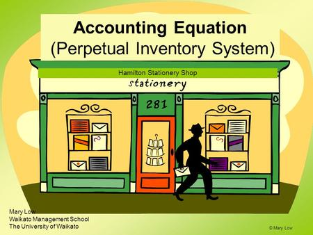 Accounting Equation (Perpetual Inventory System)
