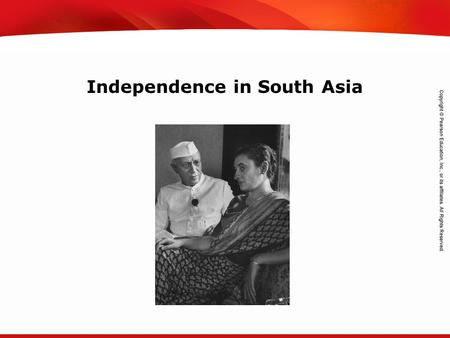 TEKS 8C: Calculate percent composition and empirical and molecular formulas. Independence in South Asia.