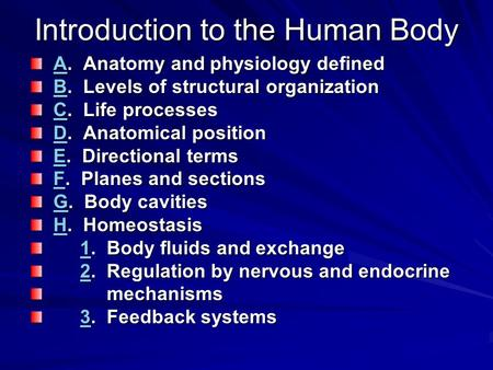 Unit 1 – Homeostasis Introduction - ppt video online download