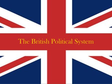 The British Political System. Who runs the country? Britain is a parliamentary monarchy where Queen Elizabeth II is the official Head of State. However,