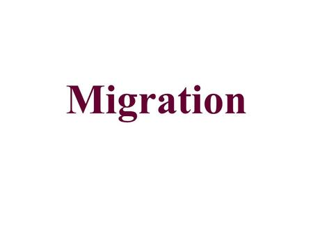 Migration. Migration A change in residence that is intended to be permanent. Emigration-leaving a country. Immigration-entering a country. Little Haiti,