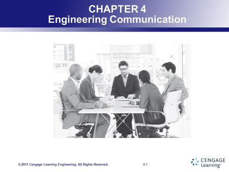 CHAPTER 4 Engineering Communication